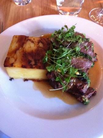 Marco Pierre White Steakhouse and Grill: Lamb & Dauphinoise Potatos