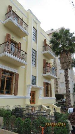 The Rothschild Hotel - Tel Aviv's Finest : Hotel's front