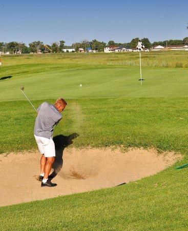 Prairie West Golf Course: Beautiful greens