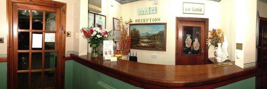 The Garden Hotel & Restaurant: Reception