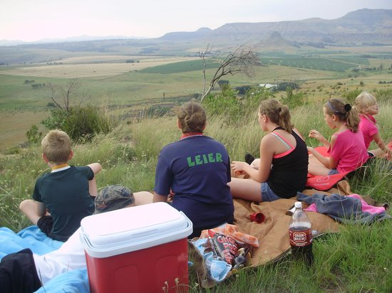 Mafube Mountain Retreat: Sundowners on New Years Eve