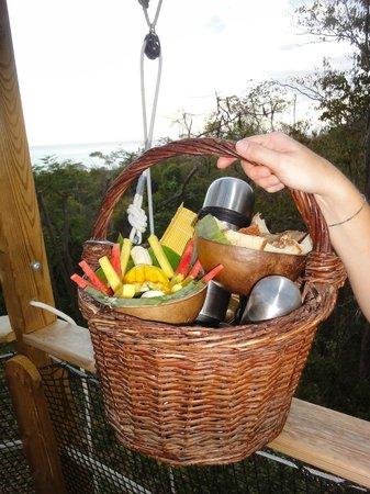 Habitation Getz: Frühstückskorb