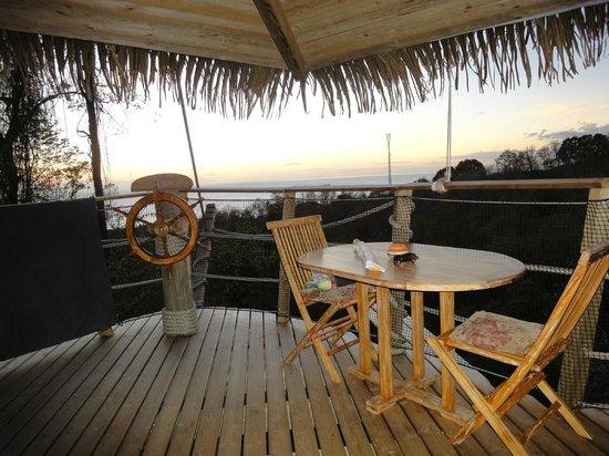 Habitation Getz: Terrasse Cabane Pirates