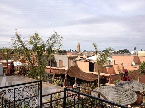 Riad Dar Anika: View from roof terrace