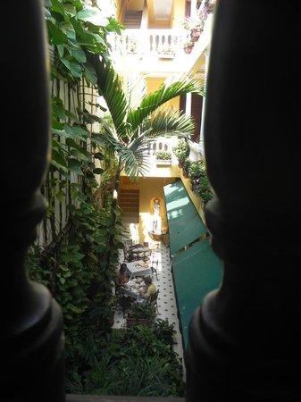 Casa La Fe - a Kali Hotel: Vista al jardin