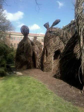 Oregon State University: Weaved structure