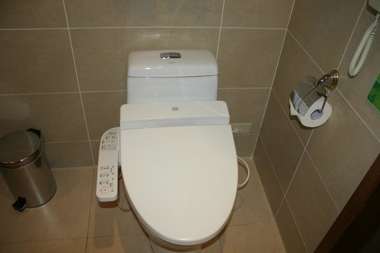 Taipei Garden Hotel: Automatic commode