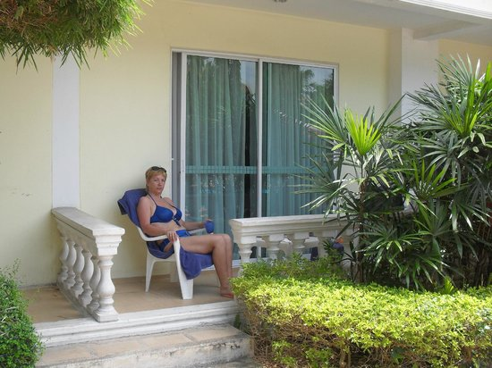 Windmill Resort Hotel: наша верандочка