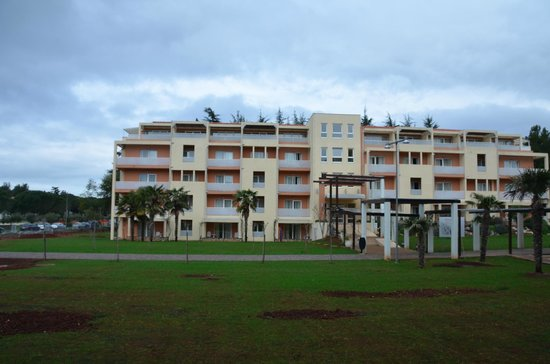 Sol Garden Istra: one of the village buildings opposite of the hotel