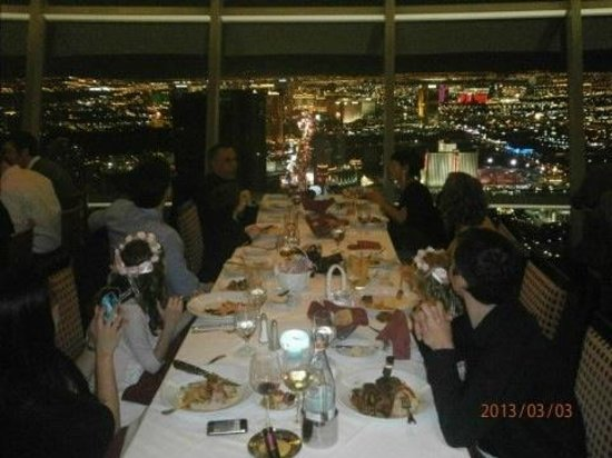 Dining At The Top Of World After Wedding In The Clouds