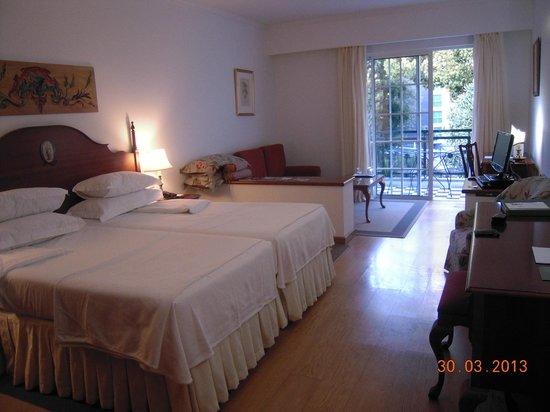 Quintinha Sao Joao: la chambre