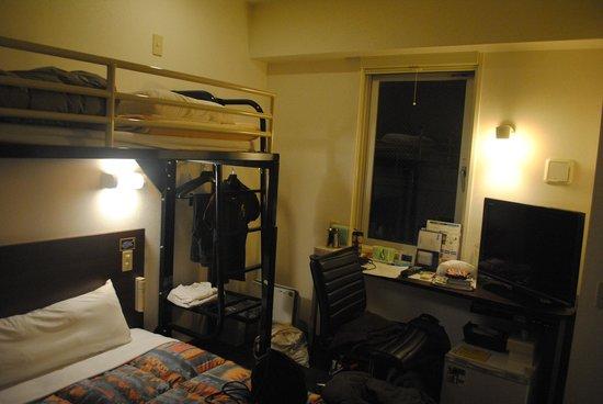 Super Hotel Nanba Nihonbashi: How the room looks