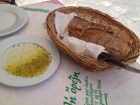 Taverna Saita : 餐前面包