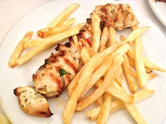 Taverna Saita: chicken souvlaki