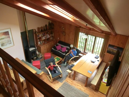 Hostal Casa Satya: salon