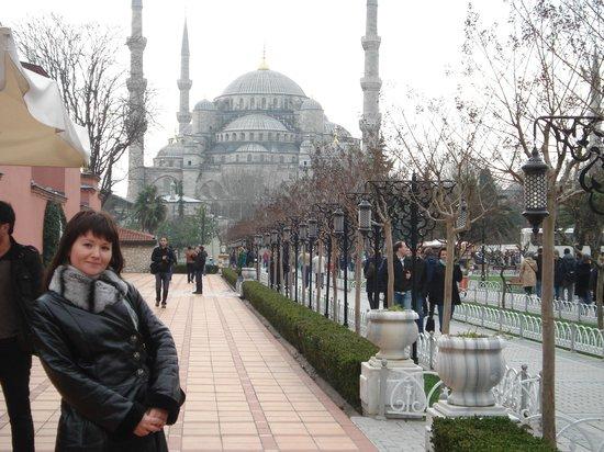 Sultanahmet Cesme Hotel: The Blue Mosque