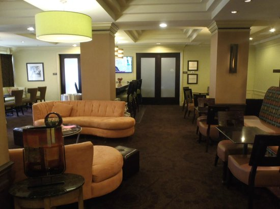Hampton Inn & Suites Atlantic Beach: Breakfast area