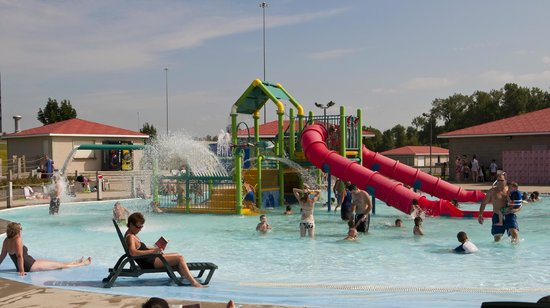Mandan, ND: The Kiddie Pool Area