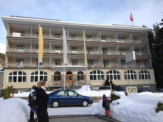 Hotel Edelweiss Davos: entree hotel edelweiss