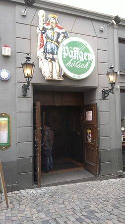 Bierhaus en d'r Salzgass: Eingang Altstadt