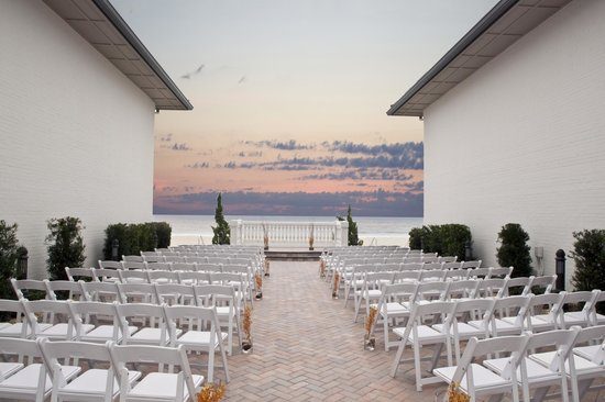 Ponte Vedra Inn Club Wedding Terrace