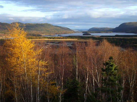 Kilmory Resort: Last Rays in the Valley - Swift Current from Mile Hill