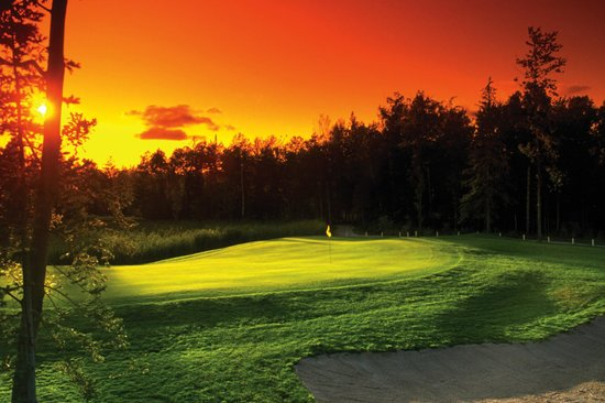 Hillman, MI: Sunset on the Course
