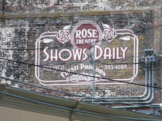 Rose Theatre: Un viejo cartel