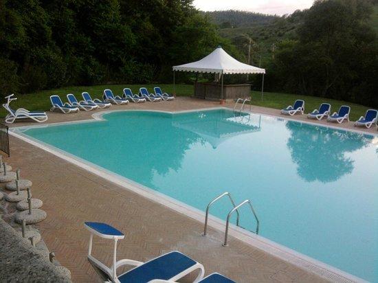 Terme di Stigliano: una delle piscine