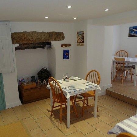 Cliff House Bed & Breakfast: Breakfast Room