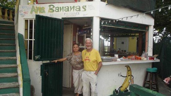 Ana Banana Bar & Grill : Ana & Barry