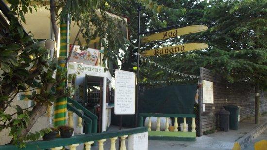 Ana Banana Bar & Grill : Ana Banana's in La Cruz