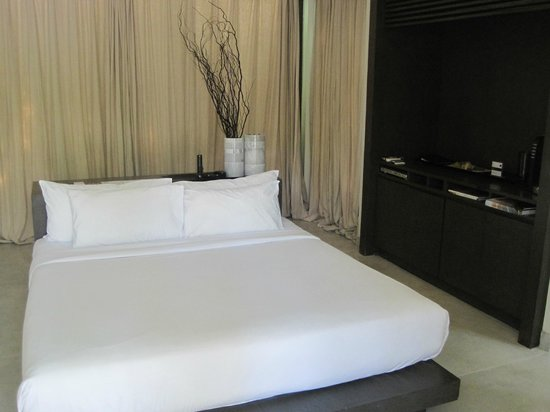 X2 Koh Samui Resort - All Spa Inclusive: Bedroom in Villa 11