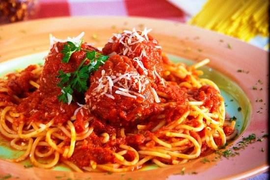 Tio Guido's NY Style Deli & Sub Shop : Spaghetti and Meatballs!