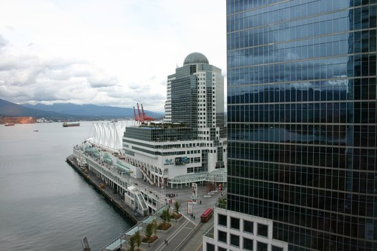Fairmont Pacific Rim: View form our suite