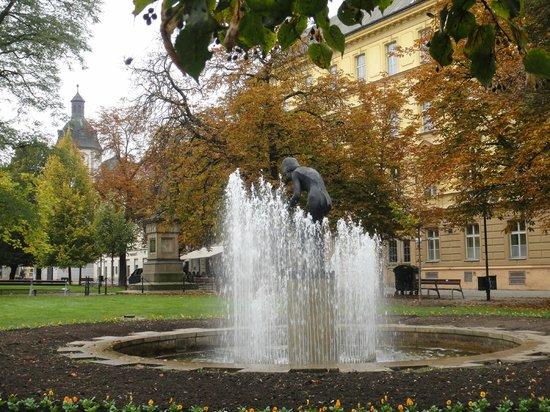 Hotel Central: В городском парке
