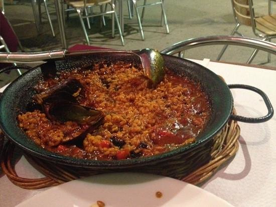 Restaurante Amore: paella