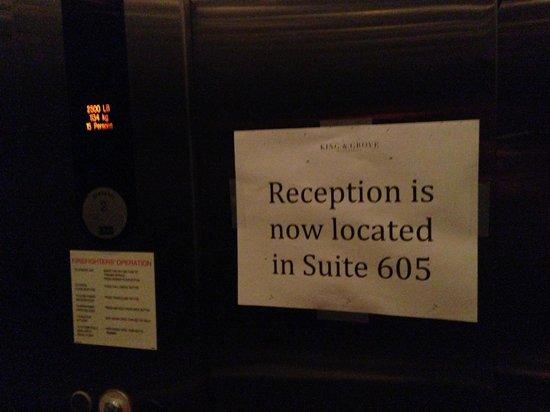 McCarren Hotel & Pool: Informative Signage