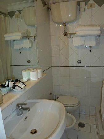 Fontana Hotel: la salle d'eau...