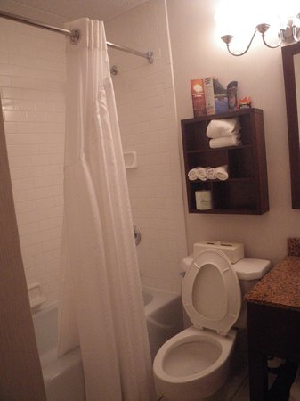 Holiday Inn Express Philadelphia-Midtown: Salle de bain