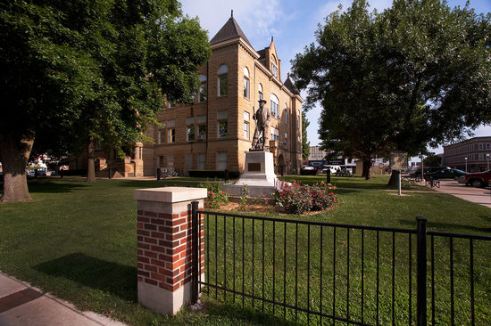 Kirksville, MO: Adair County Courthouse in the Historic Downtown District