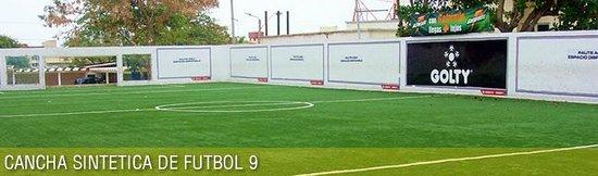 Parque del Sol: Cancha Futbol 9 vs 9