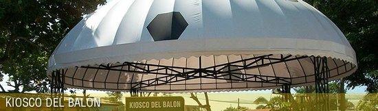 Parque del Sol: Kiosko del Balon