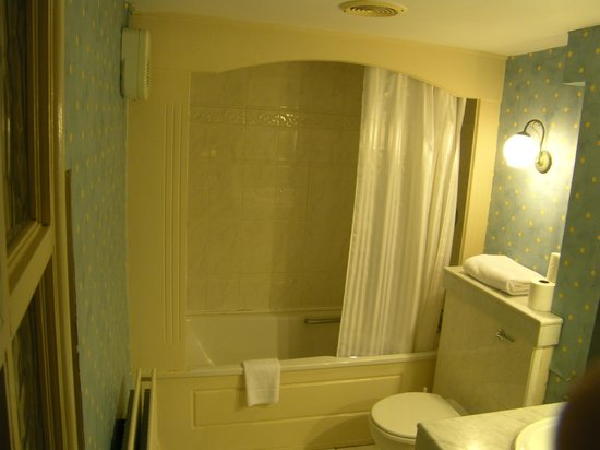 Castle Hotel and Leisure Centre: room 131 bathtub