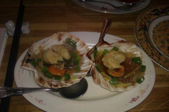 Michael Wan's Mandarin Cantonese Restaurant: Scallops