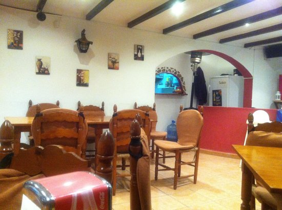 Harrys Bar: The sitting area