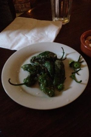 Porta: the pardon peppers, watch out for the hot ones!