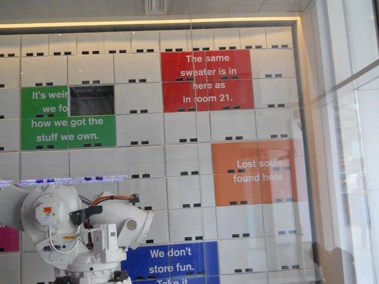 YOTEL New York: Yobot, The Robot Luggage Storage System