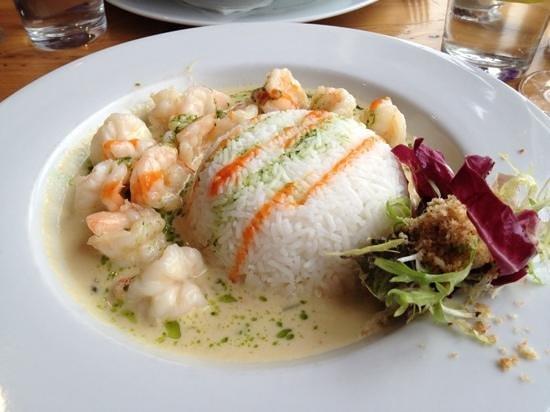 47 Mussel Row: tiger prawn curry