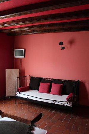 L'Alcova Rural Hotel: Habitación muy acojedora